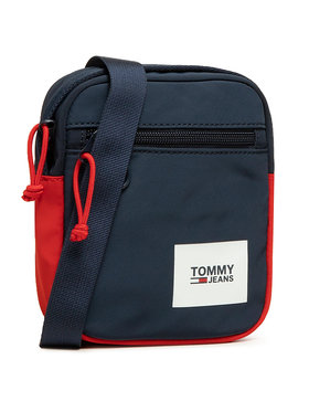 Tommy Jeans Tommy Jeans Мъжка чантичка Urban Essentials Chest Bag AM0AM07401 Тъмносин