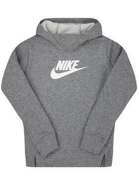 NIKE NIKE Sweatshirt Sportswear BV2717 Grau Regular Fit