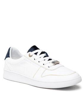 Tommy Hilfiger Tommy Hilfiger Sneakersy Premium Court Sneaker FW0FW05920 Biela