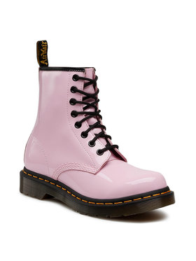 Dr. Martens Dr. Martens Glany 1460 W Patent Lamper 26425322 Różowy