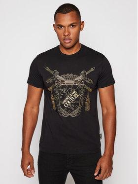 Versace Jeans Couture Versace Jeans Couture T-Shirt B3GZB7TF Czarny Slim Fit