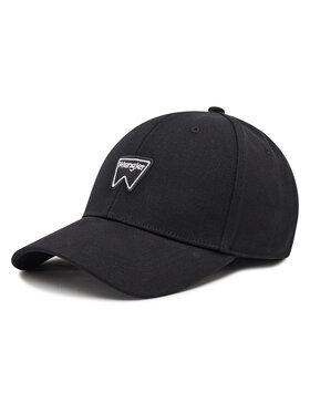 Wrangler Wrangler Шапка с козирка Logo Cap W0U5U5XW5 Черен