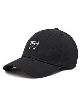 Wrangler Wrangler Šiltovka Logo Cap W0U5U5XW5 Čierna