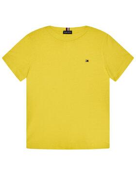 TOMMY HILFIGER TOMMY HILFIGER T-Shirt Essential Tee KB0KB06130 M Κίτρινο Regular Fit