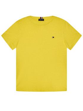 TOMMY HILFIGER TOMMY HILFIGER Тишърт Essential Tee KB0KB06130 M Жълт Regular Fit