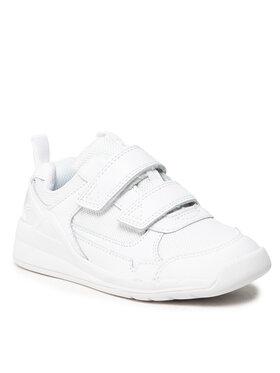 Clarks Clarks Sneakersy Orbit Sprint K 261534767 Biały