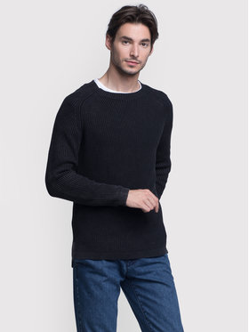 Vistula Vistula Sweter Mason Duo XA0784 Czarny Regular Fit