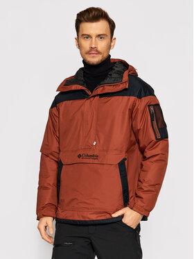 Columbia Columbia Anorak jakna Challenger 1698431 Smeđa Regular Fit