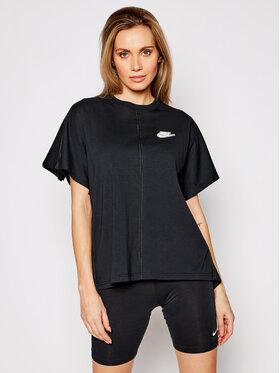 Nike Nike T-shirt Earth Day CZ8355 Crna Oversize