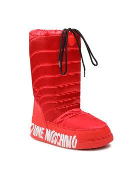 LOVE MOSCHINO LOVE MOSCHINO Boty JA24132G1DISK500 Červená