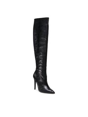 Solo Femme Solo Femme Μπότες πάνω από το γόνατο 14403-01-M31/000-12-00 Μαύρο