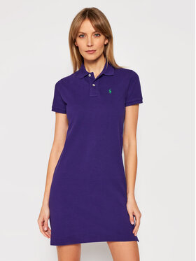 Polo Ralph Lauren Polo Ralph Lauren Rochie de zi Ssl 211799490013 Violet Regular Fit