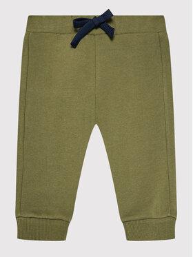 United Colors Of Benetton United Colors Of Benetton Teplákové kalhoty 3J70I0041 Zelená Regular Fit