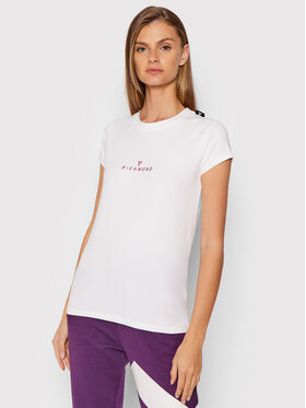 John Richmond John Richmond T-Shirt Lahaina UWA21017TS Biały Regular Fit
