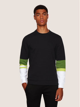 Boss Boss Sweatshirt Salbo 2 50435767 Schwarz Slim Fit
