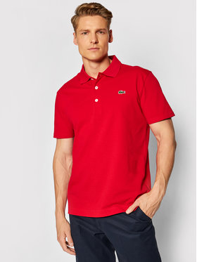 Lacoste Lacoste Polo YH4801 Rosso Slim Fit
