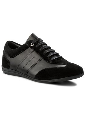 Tommy Hilfiger Sneakersy Otis 1C FM0FM01446 Čierna