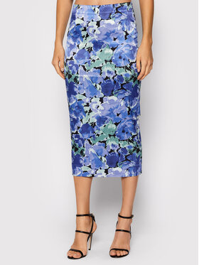 ROTATE ROTATE Pouzdrová sukně Tasha Pencil Skirt RT528 Fialová Slim Fit