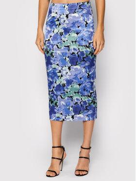 ROTATE ROTATE Puzdrová sukňa Tasha Pencil Skirt RT528 Fialová Slim Fit