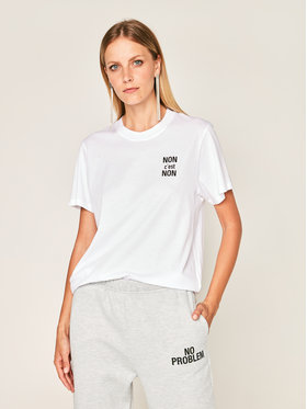 IRO IRO T-Shirt Nonon AN158 Bílá Regular Fit