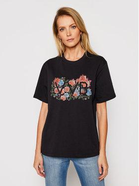 Victoria Victoria Beckham Victoria Victoria Beckham T-Shirt Heavy 2121JTS002408A Czarny Regular Fit