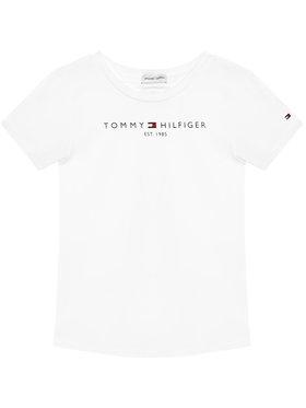 Tommy Hilfiger Tommy Hilfiger T-shirt Essential KG0KG05242 M Bianco Regular Fit