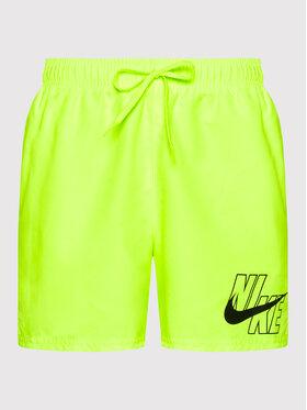 Nike Nike Pantaloncini da bagno Logo Lap 5 NESSA566 Giallo Standard Fit