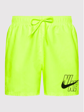 Nike Nike Σορτς κολύμβησης Logo Lap 5 NESSA566 Κίτρινο Standard Fit