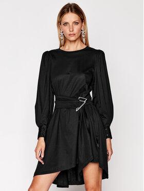 IRO IRO Každodenné šaty Loumos AN151 Čierna Regular Fit