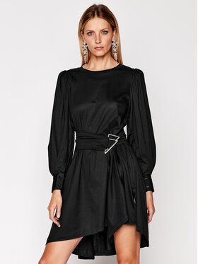 IRO IRO Robe de jour Loumos AN151 Noir Regular Fit