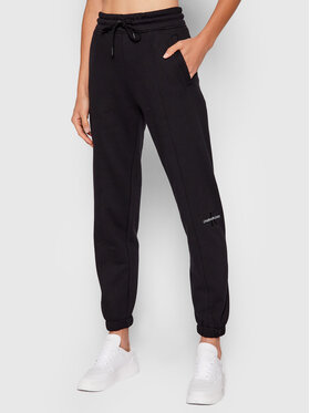 Calvin Klein Jeans Calvin Klein Jeans Donji dio trenerke Essentials J20J216240 Crna Regular Fit