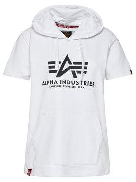 Alpha Industries Alpha Industries Sweatshirt Basic 126507 Blanc Regular Fit
