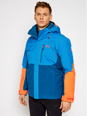 Jack Wolfskin Jack Wolfskin Lyžiarska bunda Great Snow 1113381 Modrá Regular Fit