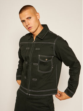 HUF HUF Farmer kabát Lincoln JK00240 Fekete Regular Fit