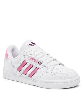 adidas adidas Scarpe Continental 80 Stripes H04021 Bianco
