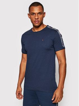 Tommy Hilfiger Tommy Hilfiger T-Shirt UM0UM00562 Tmavomodrá Regular Fit