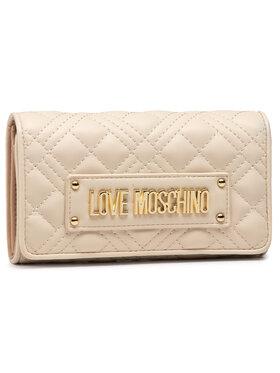 LOVE MOSCHINO LOVE MOSCHINO Portefeuille femme grand format JC5630PP0CKA0110 Beige