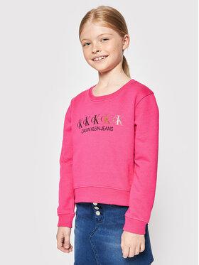 Calvin Klein Jeans Calvin Klein Jeans Majica dugih rukava IG0IG00989 Ružičasta Regular Fit