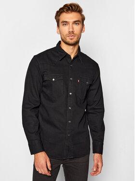 Levi's® Levi's® Hemd Barstow Western Standard 85744-0002 Schwarz Standard Fit