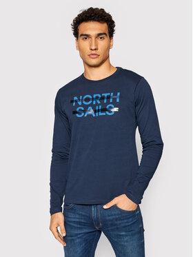 North Sails North Sails Longsleeve 692763 Dunkelblau Regular Fit