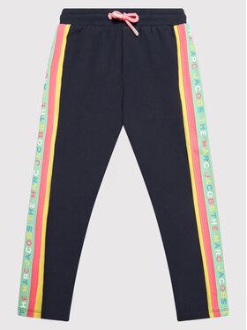 Little Marc Jacobs Little Marc Jacobs Teplákové kalhoty W14278 S Tmavomodrá Regular Fit