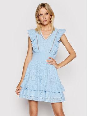 Guess Guess Sukienka letnia W1GK0H WDVE1 Niebieski Regular Fit