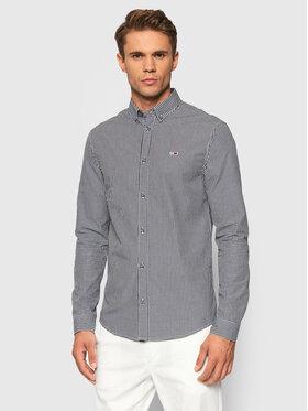Tommy Jeans Tommy Jeans Koszula Tjm Essential Gingham DM0DM10981 Czarny Slim Fit
