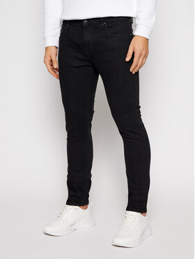 Guess Guess Jeansy Super Skinny Fit Chris M0BA27 D3Y2A Nero Super Skinny Fit