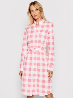 Lauren Ralph Lauren Lauren Ralph Lauren Рокля тип риза 211838116001 Червен Regular Fit