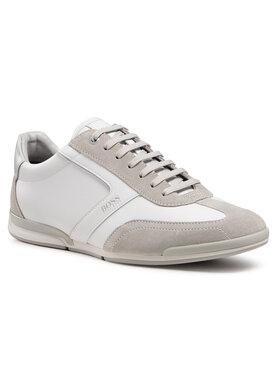 Boss Boss Sneakersy Saturn 50455305 10231638 01 Biały