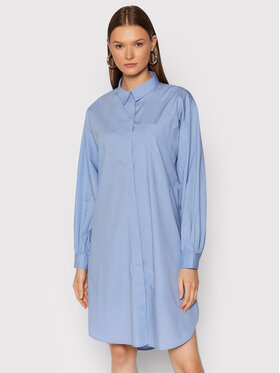 Vero Moda Vero Moda Marškiniai Hanna 10254948 Mėlyna Regular Fit