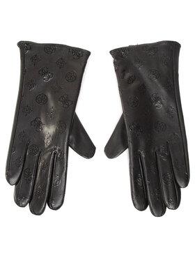 Guess Guess Damenhandschuhe Not Coordinated Gloves AW8537 POL02 Schwarz