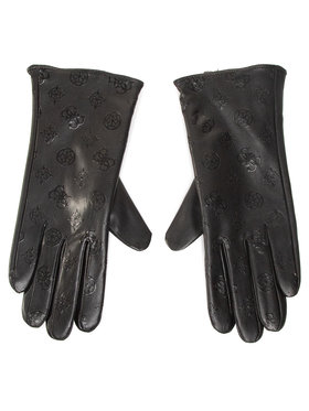 Guess Guess Дамски ръкавици Not Coordinated Gloves AW8537 POL02 Черен