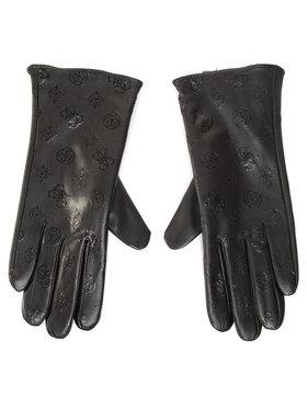 Guess Guess Rękawiczki Damskie Not Coordinated Gloves AW8537 POL02 Czarny